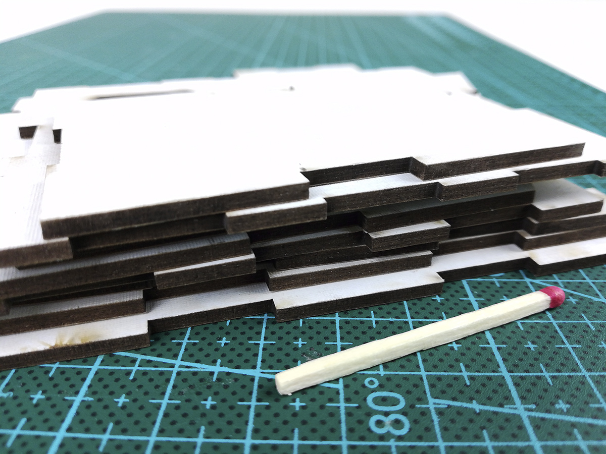 Why Cardboard is the perfect material for modular wargaming terrain